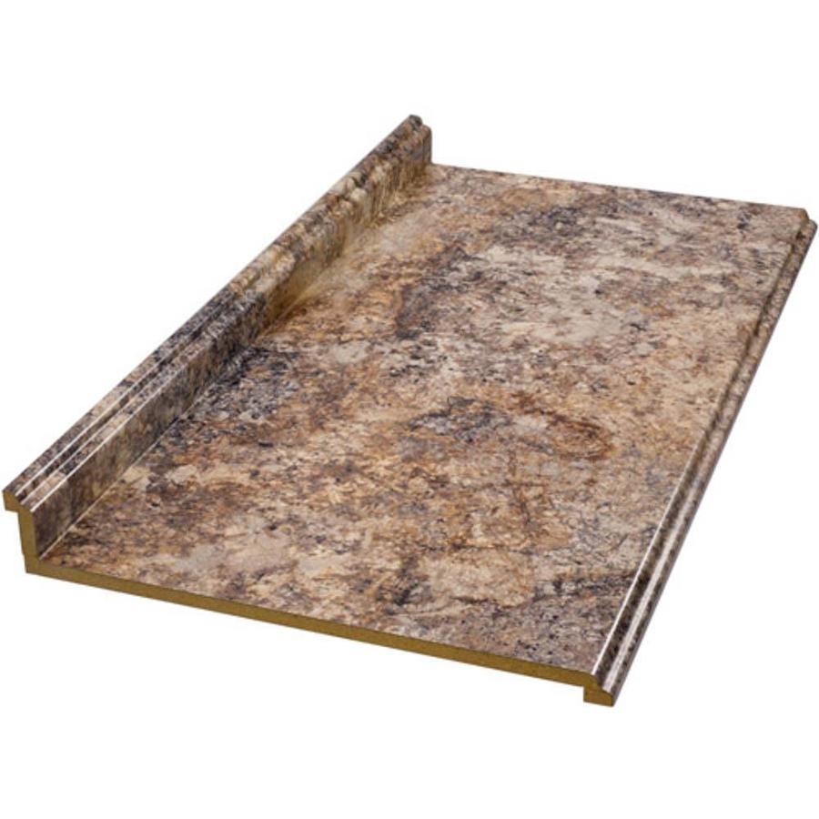 VTI Fine Laminate Countertops Formica 10-ft Antique Mascarello Fx Etchings Straight Laminate Kitchen Countertop