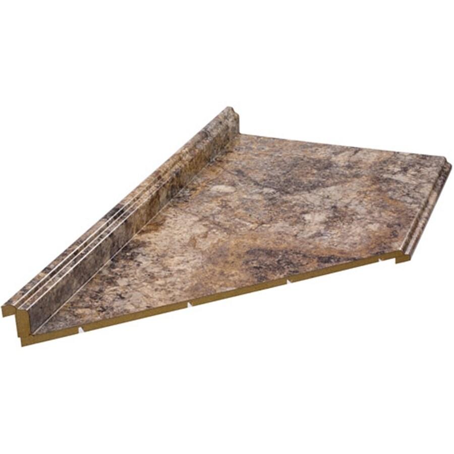 VTI Fine Laminate Countertops Formica 10-ft Antique Mascarello Fx Etchings Miter-Cut-Cut Laminate Kitchen Countertop