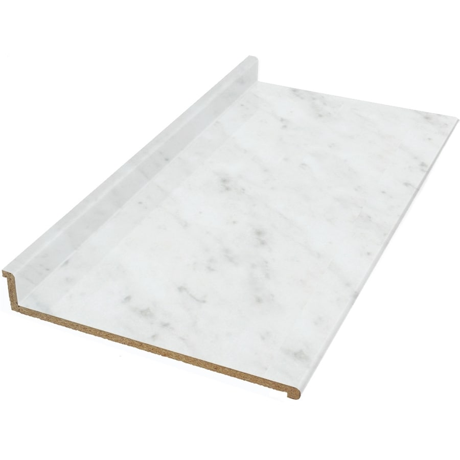 Shop Vti Fine Laminate Countertops Wilsonart 12 Ft White