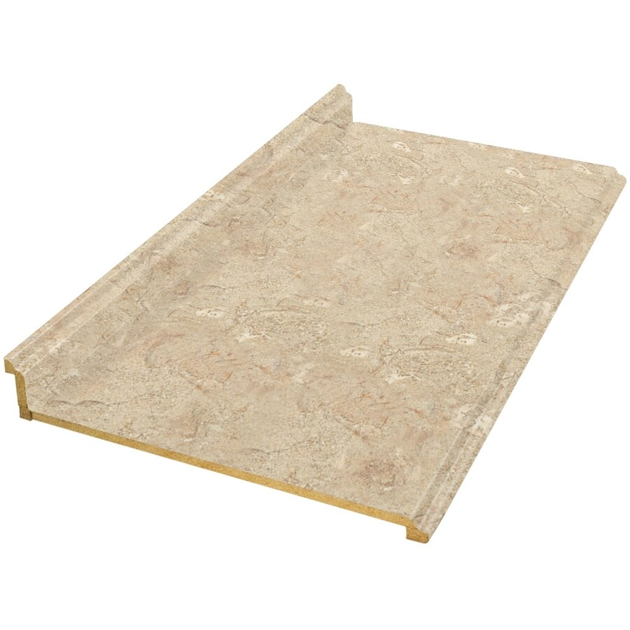 shop vti fine laminate countertops formica 12 ft travertine matte straight laminate kitchen. Black Bedroom Furniture Sets. Home Design Ideas