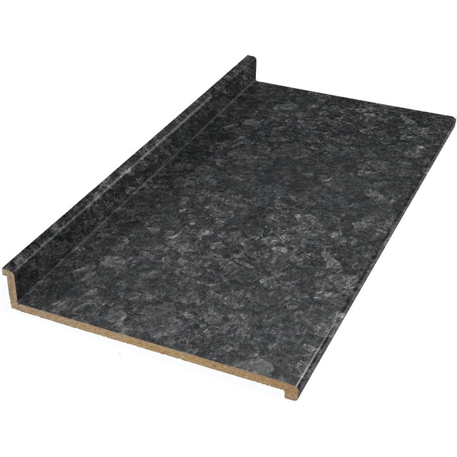 Shop Vti Fine Laminate Countertops Formica 12 Ft Midnight