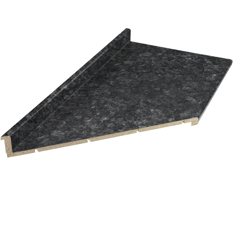 vti fine laminate countertops formica 12 ft midnight stone etchings miter cut cut shop vti fine laminate countertops formica 12 ft midnight stone      rh   lowes com