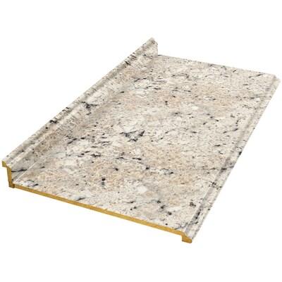 VTI Fine Laminate Countertops Formica 12-ft Ouro Romano