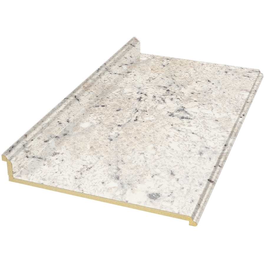 Shop VT Dimensions Formica 8-ft Ouro Romano Etchings Straight ...