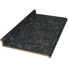 Exceptionnel VT Dimensions Formica 6 Ft Midnight Stone Etchings Straight Laminate  Kitchen Countertop