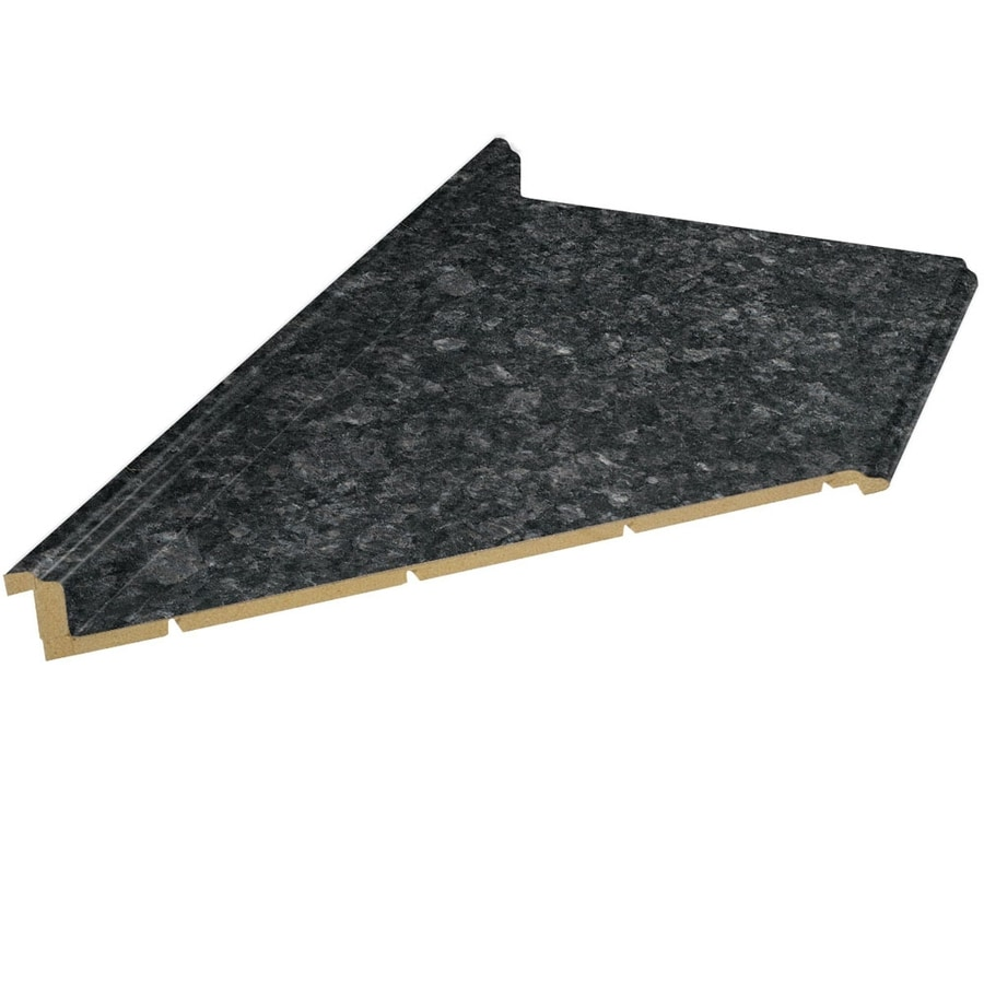 VT Dimensions Formica 6-ft Midnight Stone Etchings Miter Laminate Kitchen Countertop