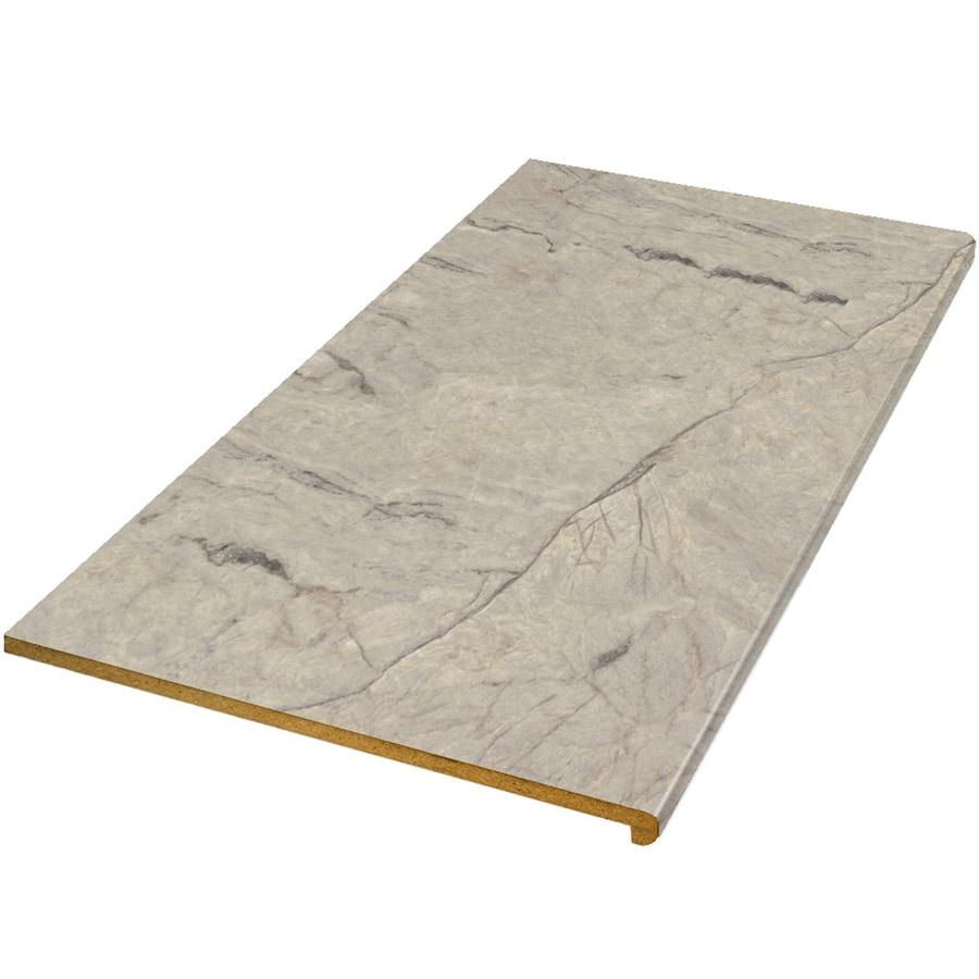 Formica Bathroom Countertops Lowes: Shop VT Dimensions Formica 6-ft Silver Quartzite Scovato