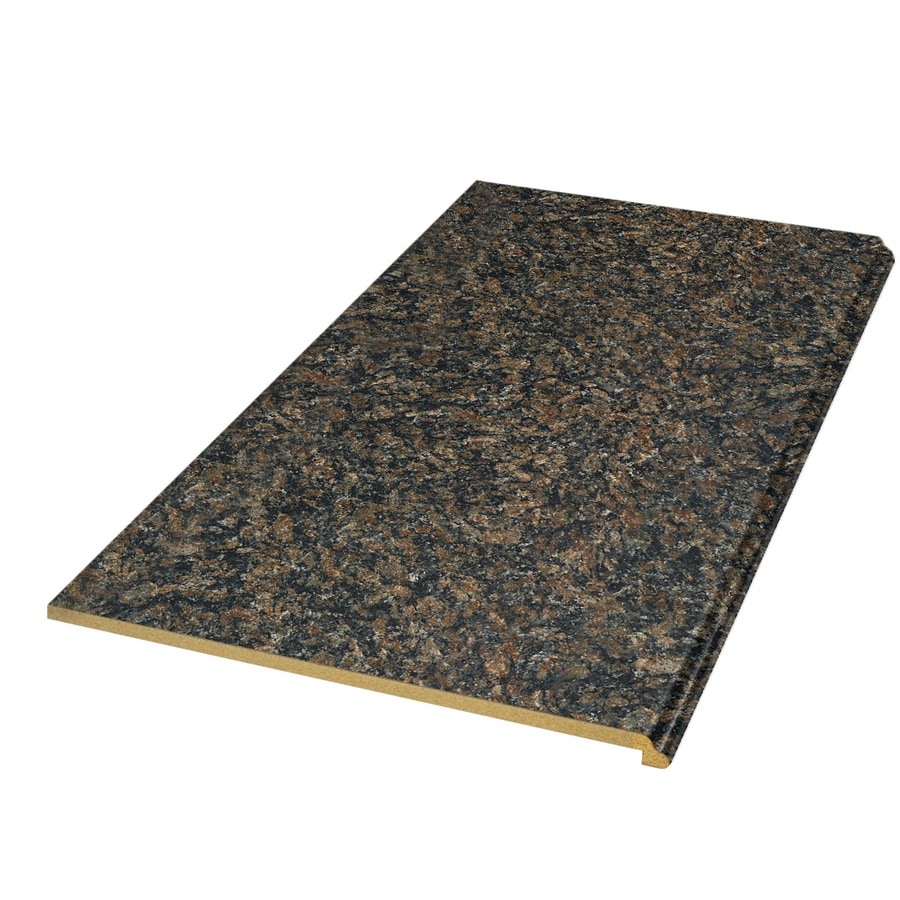 Shop vt dimensions formica 8 ft autumn brown granite for Granite countertop width