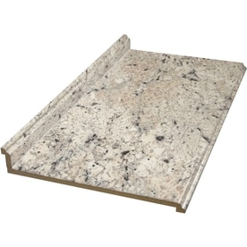 GroBartig BELANGER Fine Laminate Countertops Formica 4 Ft Ouro Romano With Etchings  Straight Laminate Kitchen Countertop