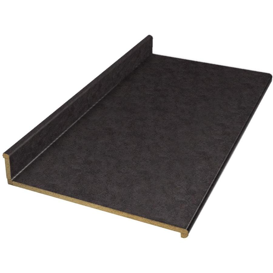 Shop VT Dimensions Wilsonart 10-ft Deepstar Slate Straight Laminate Kitchen Countertop At Lowes.com