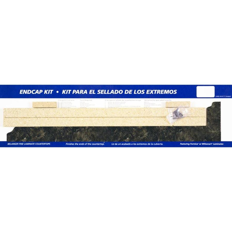 BELANGER Fine Laminate Countertops 25.625-in Labrador Granite Etchings Laminate Kitchen End Cap