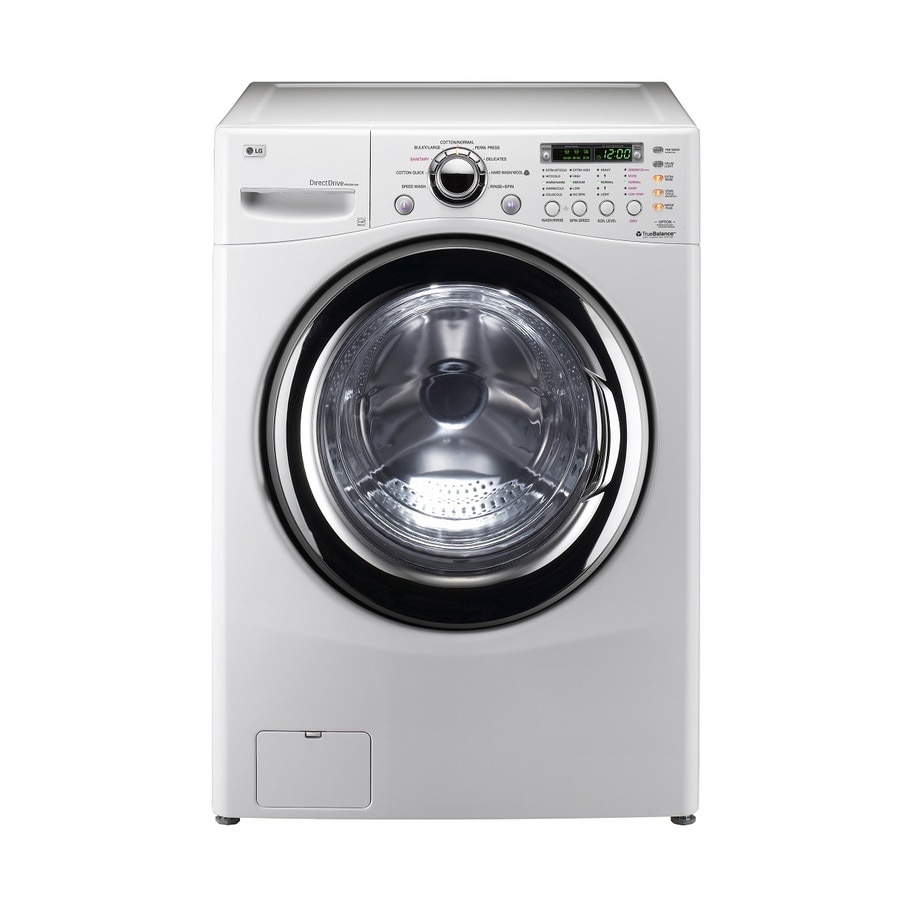 LG Electric Laundry Center with 3.6-cu ft Washer/Dryer Combo (White)
