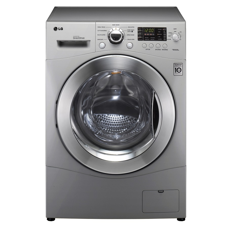 Lg 2 3 cu ft all in one washer and dryer - Lg Lg 2 3 Cu Ft 24 Compact Washer Dryer Combo Silver
