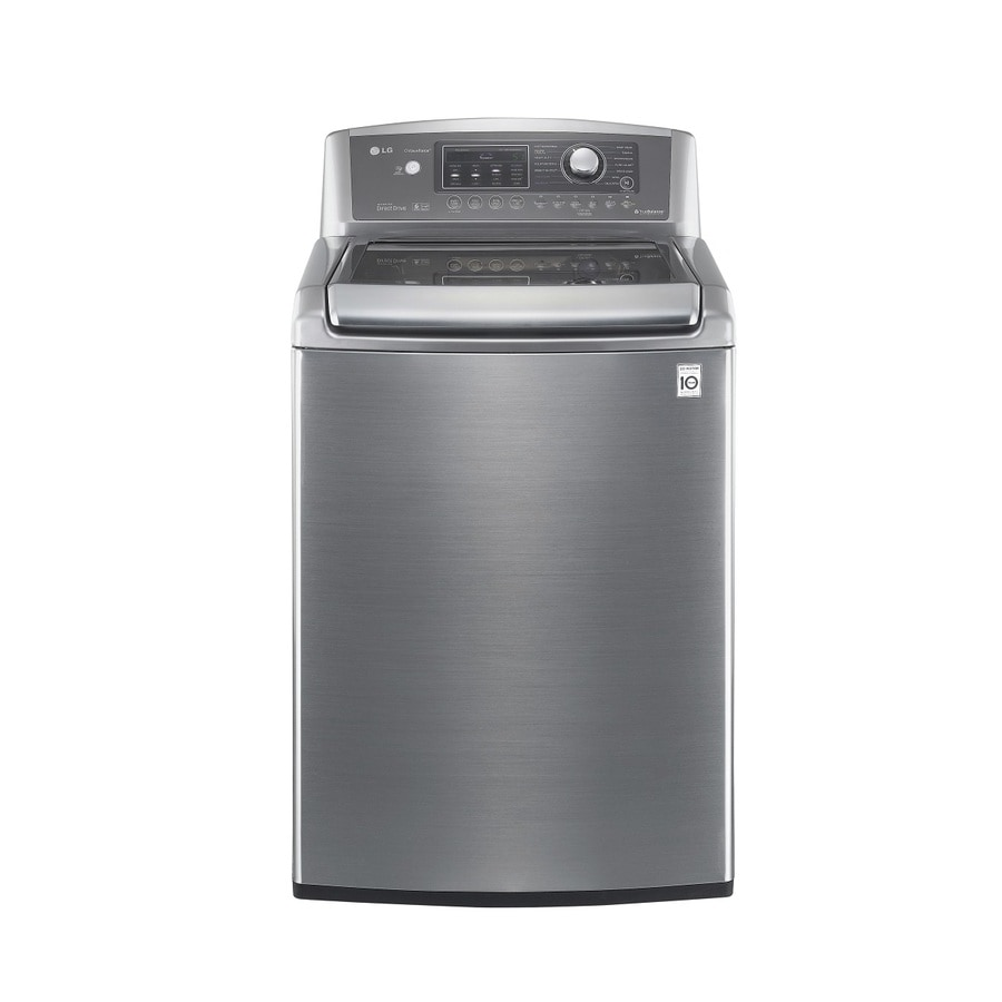 LG 4.7-cu ft High-Efficiency Top-Load Washer (Graphite Steel) ENERGY STAR