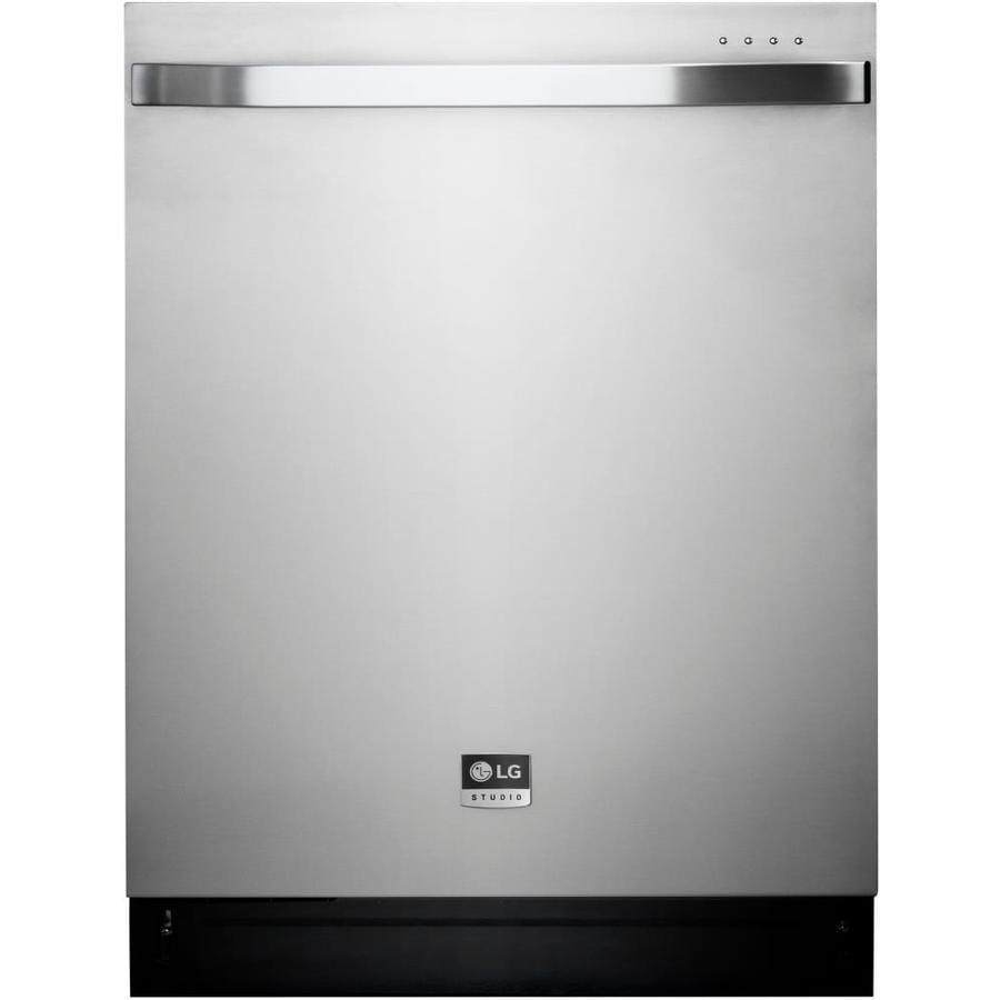 LG Studio 42-Decibel Built-In Dishwasher (Stainless Steel) (Common: 24-in; Actual: 23.75-in) ENERGY STAR