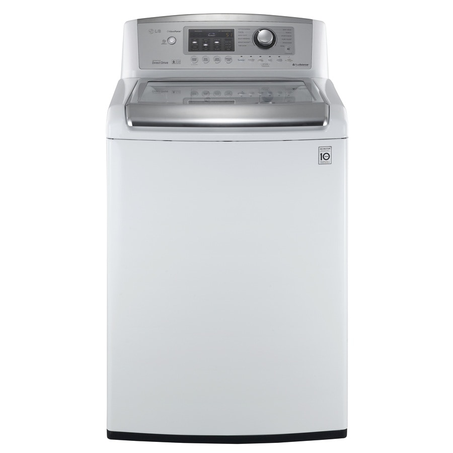 LG 4.7-cu ft High-Efficiency Top-Load Washer (White) ENERGY STAR
