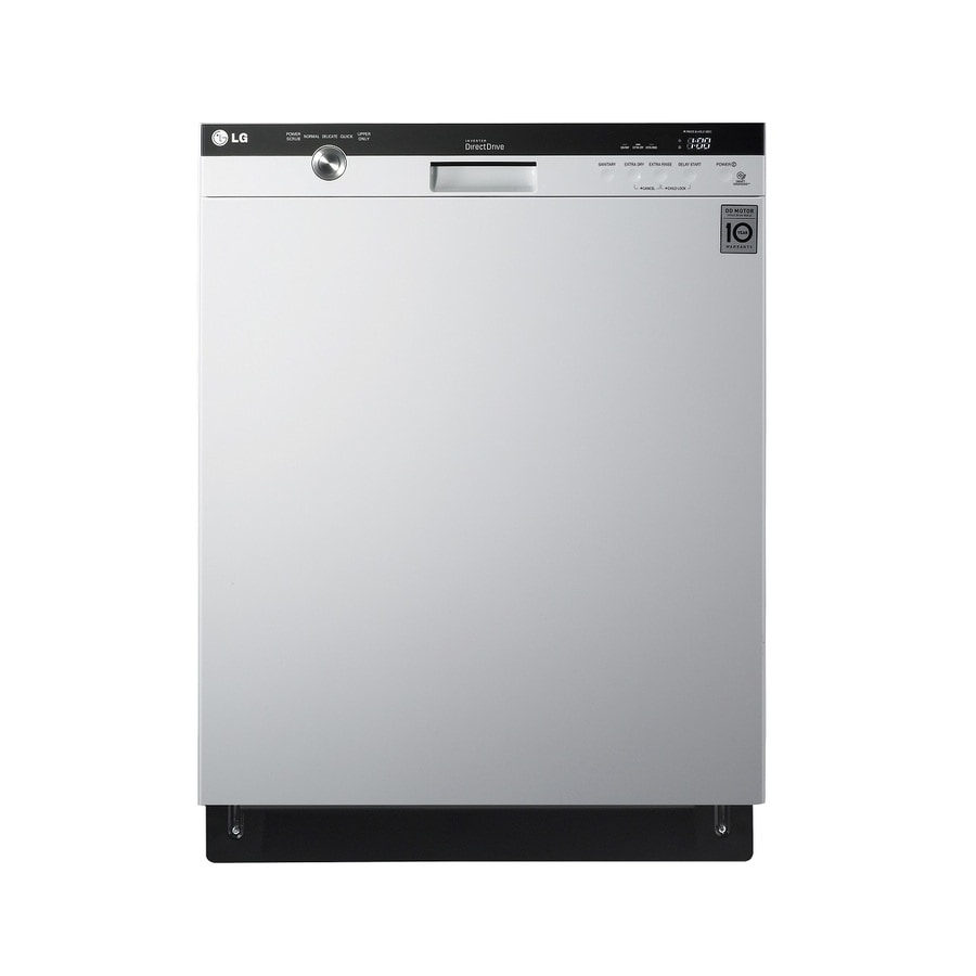 shop lg 48 decibel built in dishwasher with hard food disposer rh lowes com LG LDS4821ST Review LDS4821ST Problems