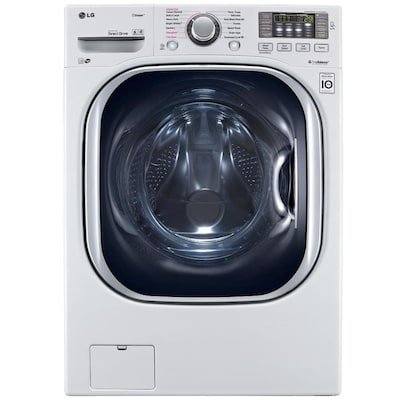 LG TWINWash Compatible 4 5-cu ft High Efficiency Stackable
