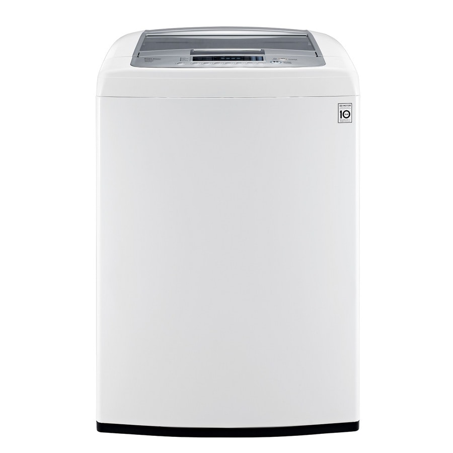LG 4.3 Cu Ft High Efficiency Top Load Washer (White) ENERGY