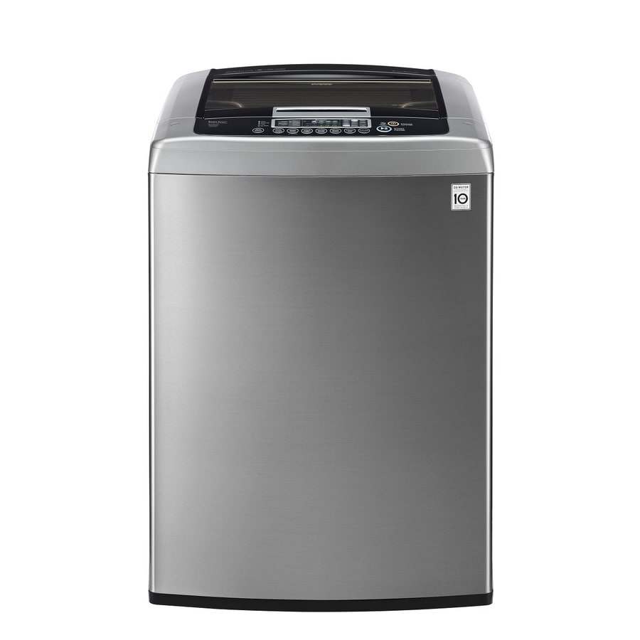 LG 4.5-cu ft High-Efficiency Top-Load Washer (Graphite Steel) ENERGY STAR