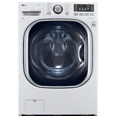LG 4 3-cu ft White Ventless Combination Washer and Dryer
