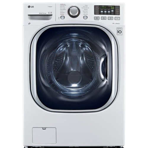 LG 4.3-cu ft White Ventless Combination Washer and Dryer with Steam Cycle at Lowes.com