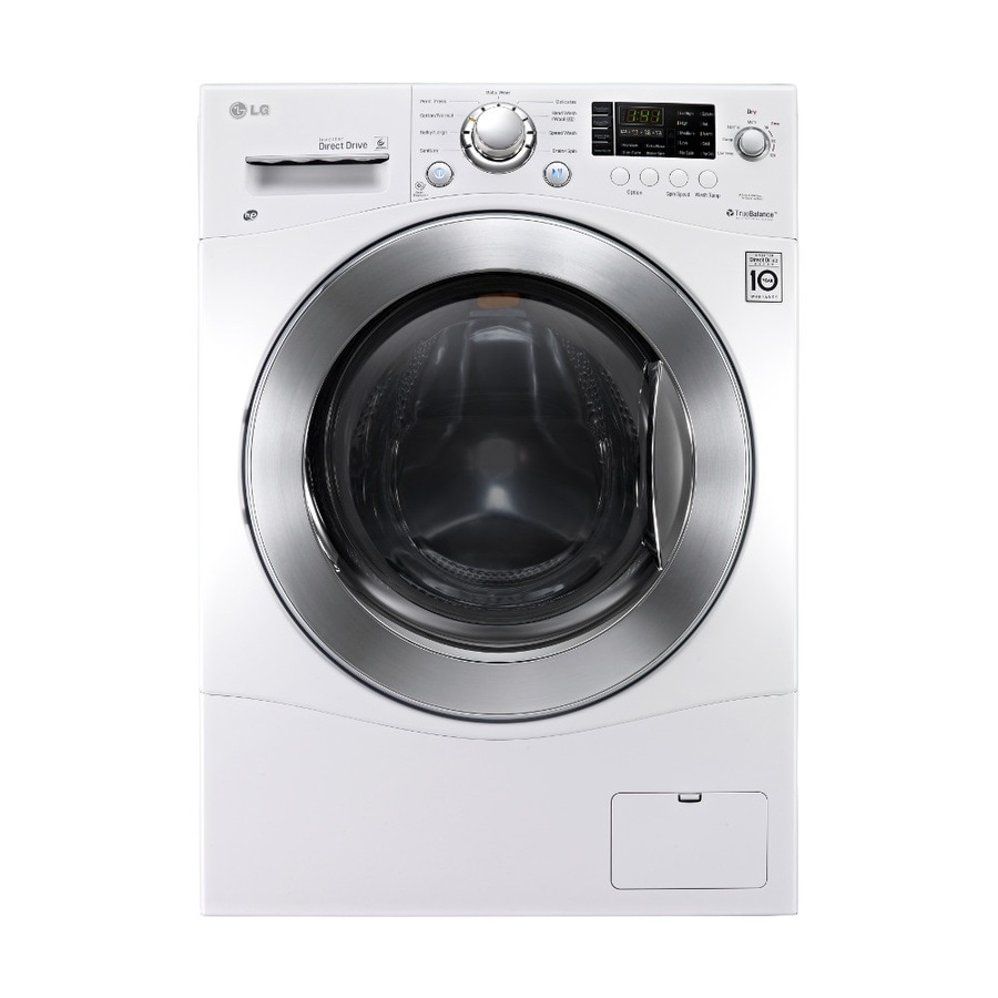 Shop LG 23cu ft Ventless Combination Washer and Dryer White at