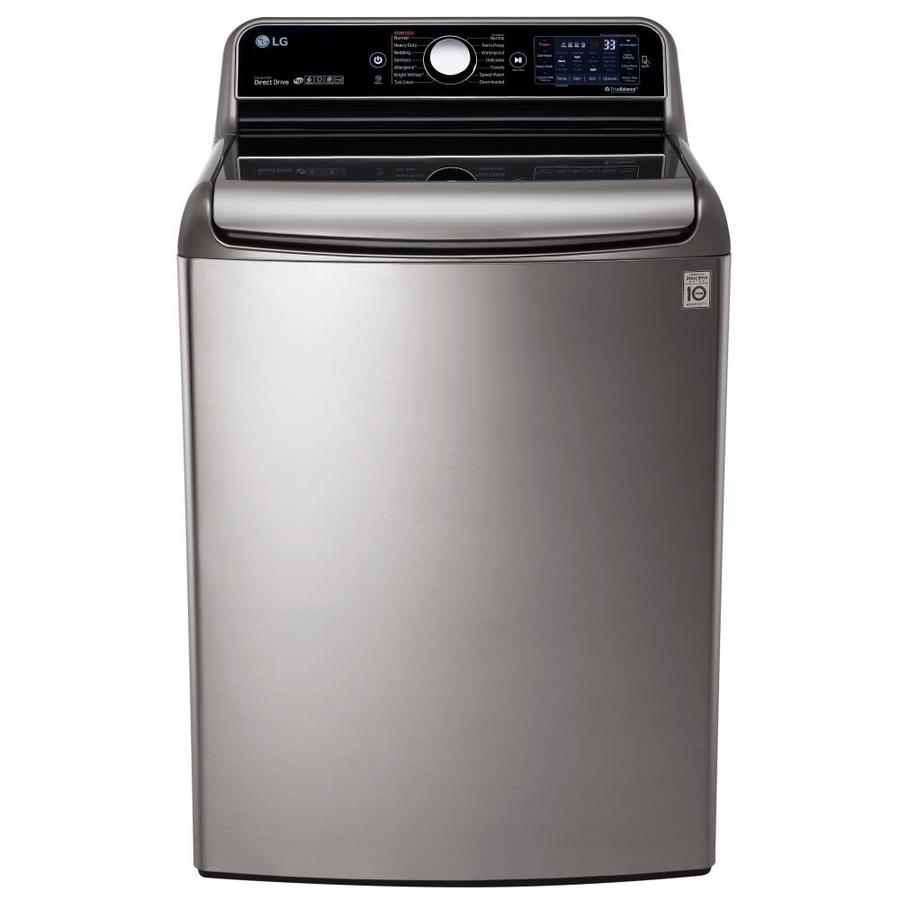 LG High-Efficiency Top-Load Washer (Graphite Steel) ENERGY