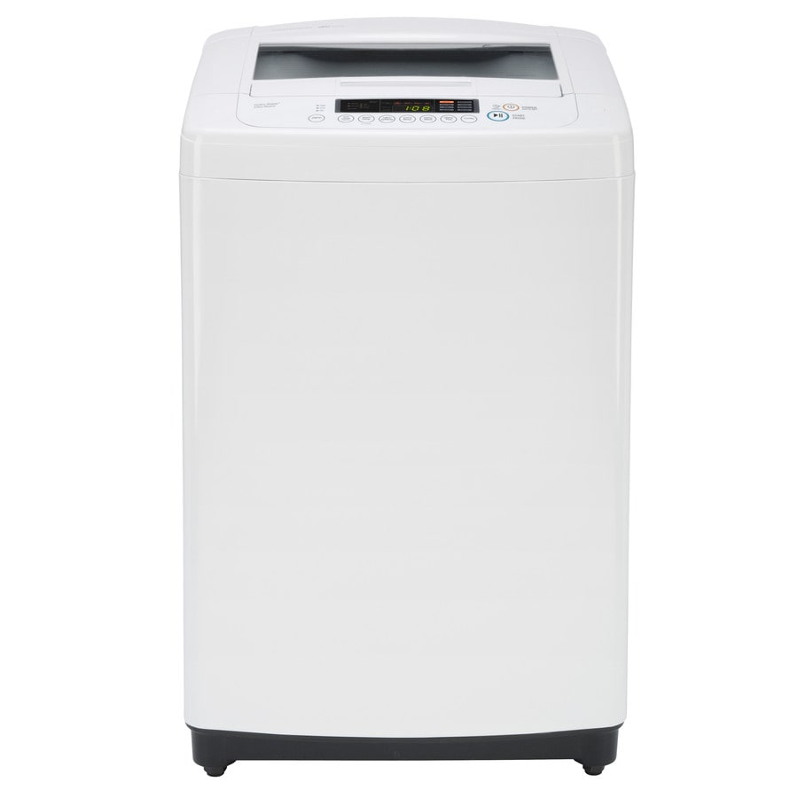LG 3.3-cu ft High-Efficiency Top-Load Washer (White)