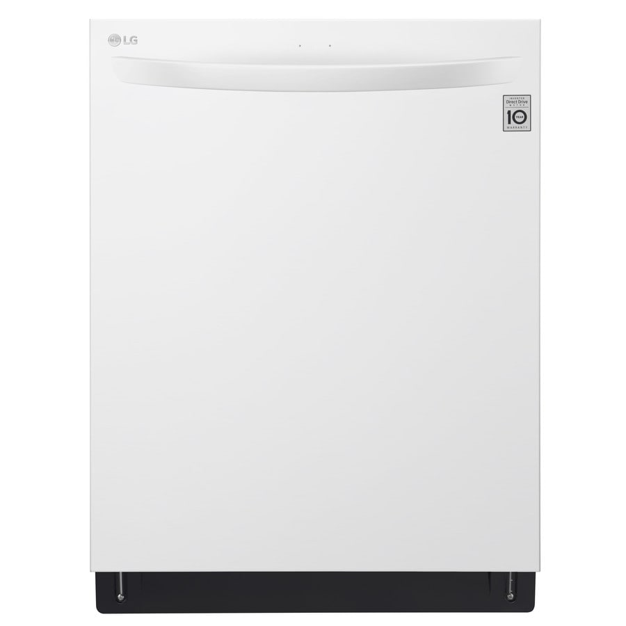 LG 46-Decibel Built-In Dishwasher (White) (Common: 24-in; Actual: 23.75-in) ENERGY STAR