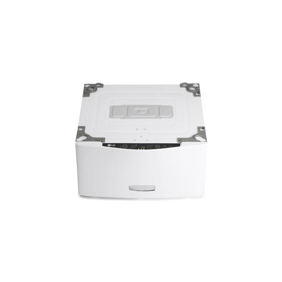 Lg Sidekick 1 Cu Ft 29 In Pedestal Washer White At Lowes Com