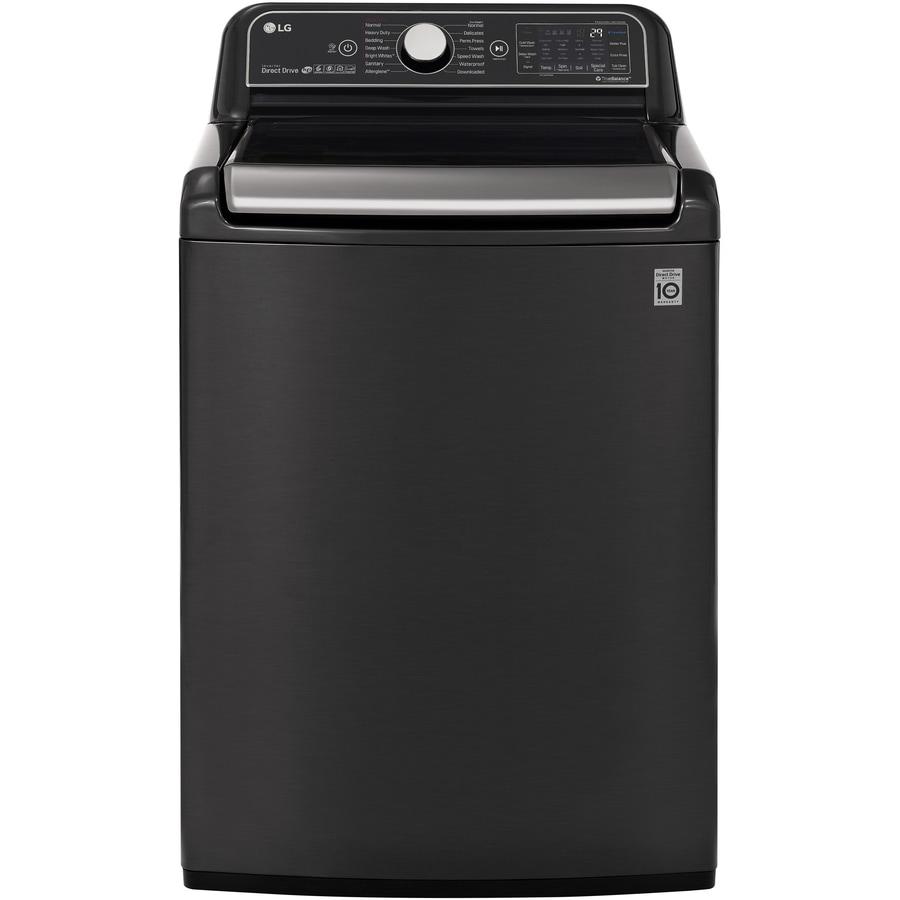 Lg Smartthinq Turbowash 3d 5 5 Cu Ft Top Load Washer