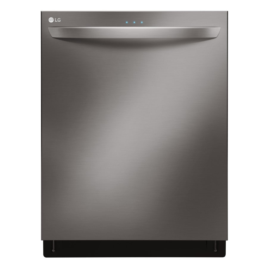 LG 44-Decibel Built-in Dishwasher (Black Stainless Steel) (Common: 24-in; Actual: 23.75-in) ENERGY STAR