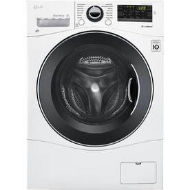 LG 2.3 Cu Ft High Efficiency Stackable Front Load Washer (White)