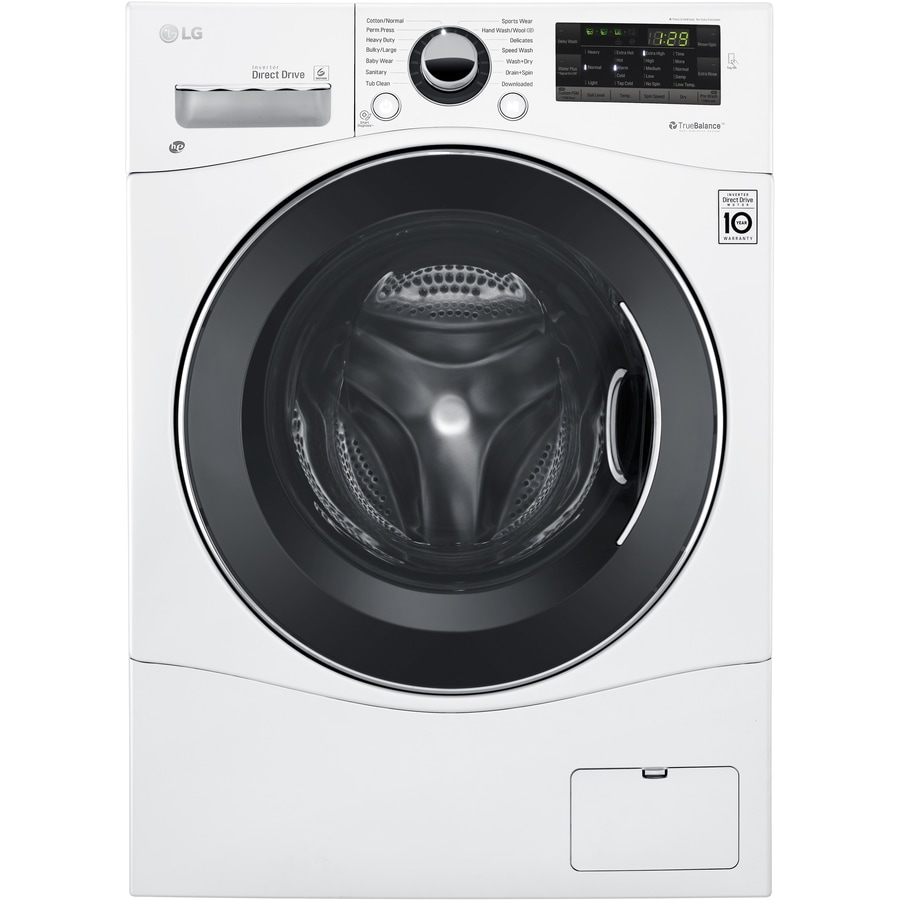 Washer And Dryer ~ Shop lg cu ft ventless combination washer and dryer at