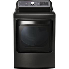 LG DLEX7600KE Black Stainless 7.3 Cu. Ft. Electric Dryer