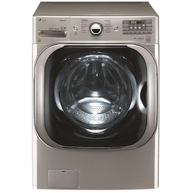 LG TWINWash 5.2-cu ft High Efficiency Stackable Front-Load Washer (Graphite Steel) ENERGY STAR