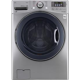 LG WM3770HVA 4.5 Cu. Ft. Stainless Front Load Steam Washer