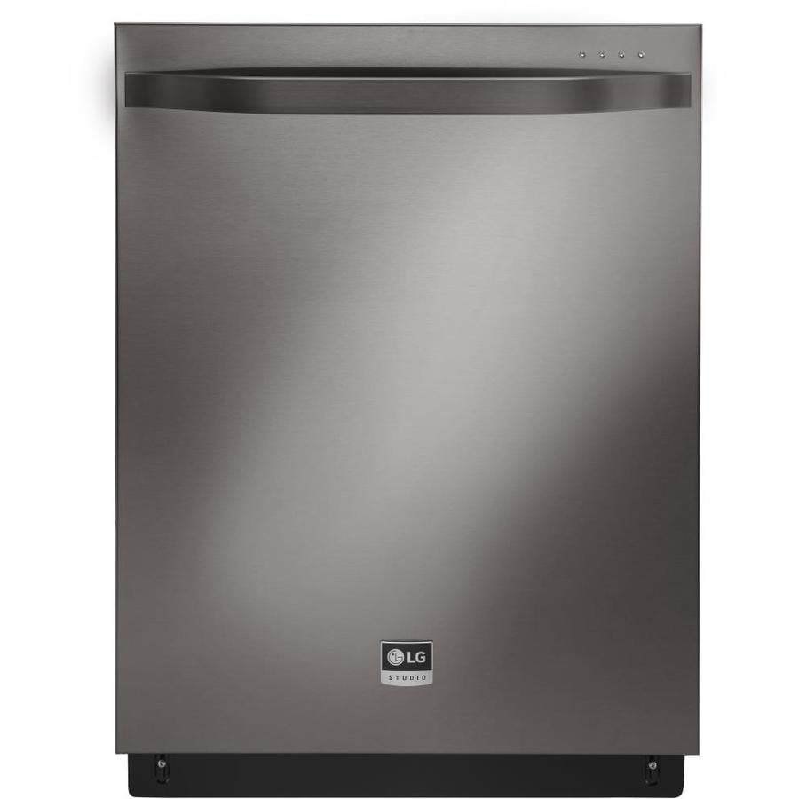 LG Studio 42-Decibel Built-in Dishwasher (Black Stainless Steel) (Common: 24-in; Actual: 23.75-in) ENERGY STAR