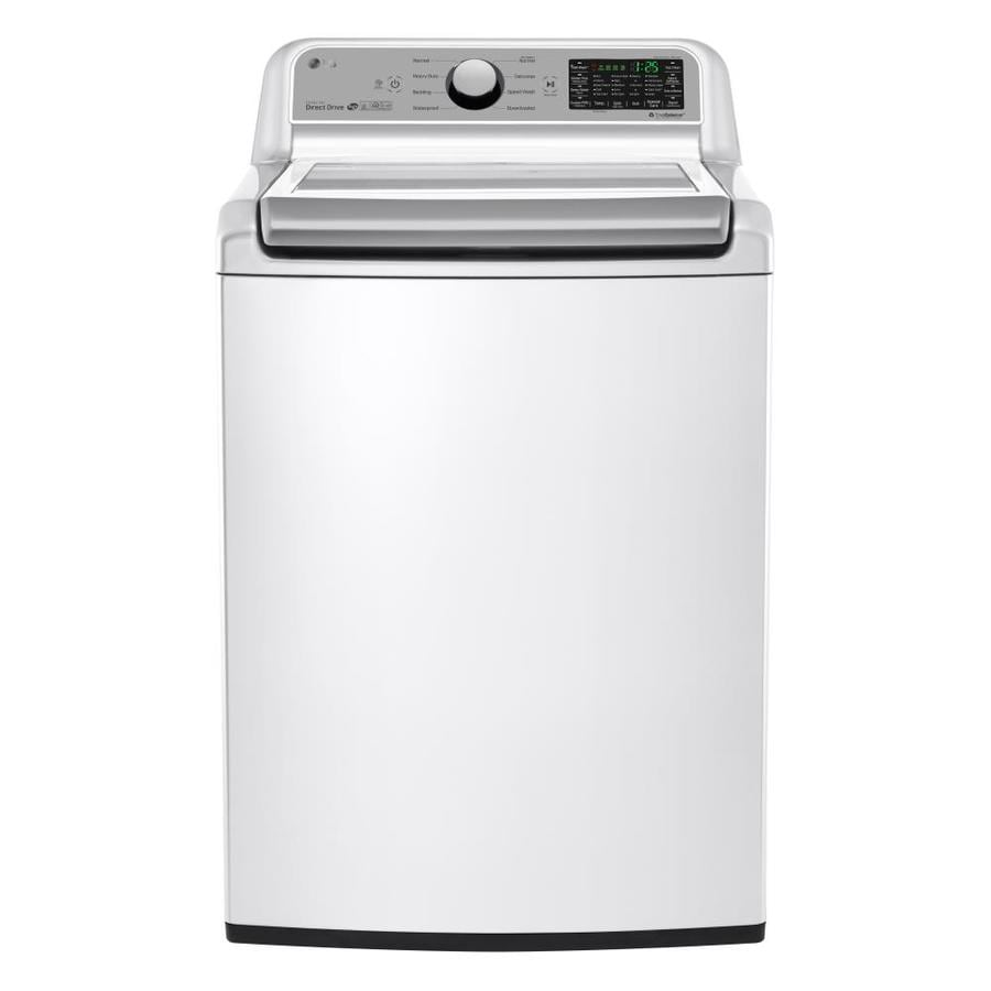 Charmant LG 5.0 Cu Ft High Efficiency Top Load Washer (White) ENERGY
