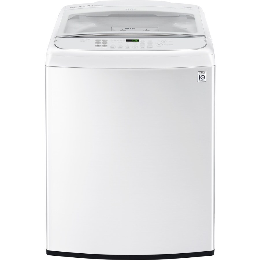 LG 5.0-cu ft High-Efficiency Top-Load Washer (White) ENERGY STAR