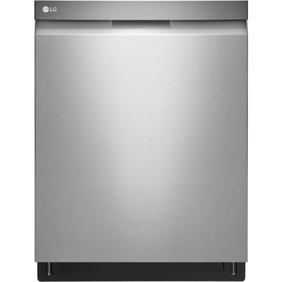 shop lg quadwash 44decibel builtin dishwasher stainless