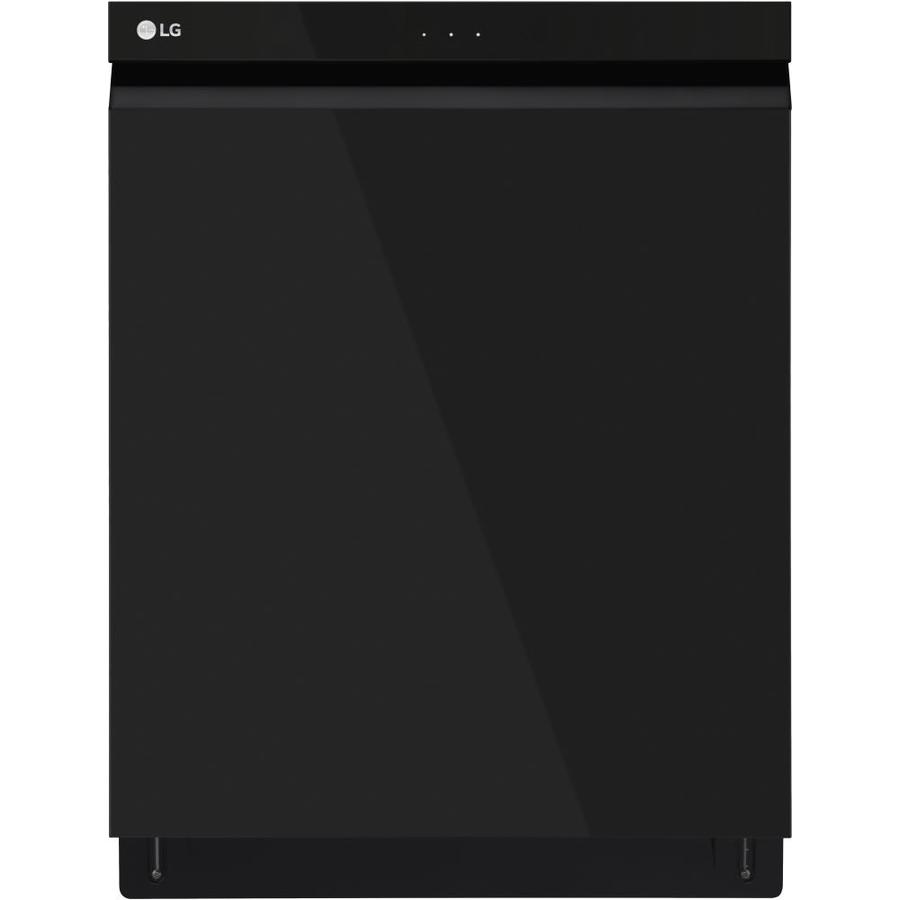 LG QuadWash 44-Decibel Built-In Dishwasher (Black) (Common: 24-in; Actual: 23.75-in) ENERGY STAR