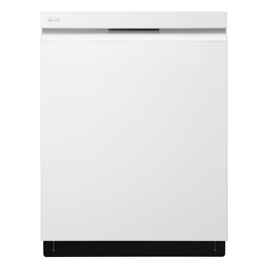 LG QuadWash 44-Decibel Built-in Dishwasher (White) (Common: 24-in; Actual: 23.75-in) ENERGY STAR