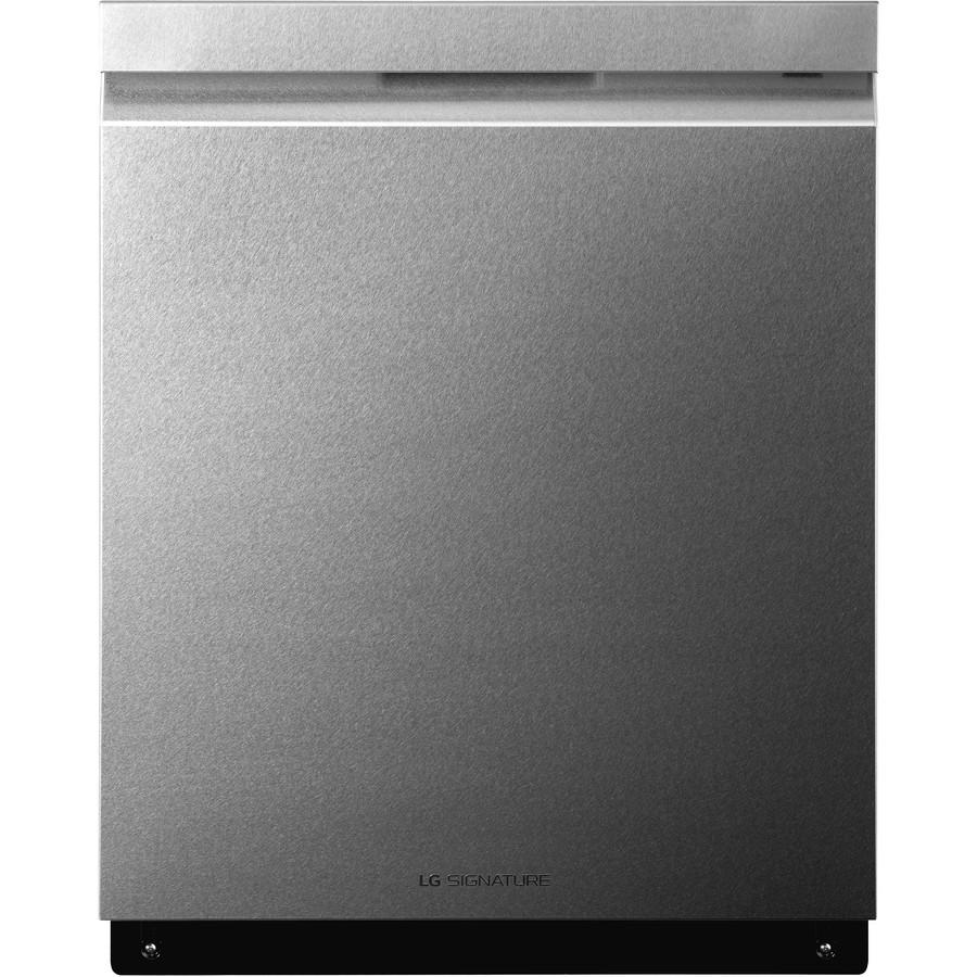 LG Signature 40-Decibel Built-In Dishwasher (Textured Steel) (Common: 24-in; Actual: 23.75-in) ENERGY STAR
