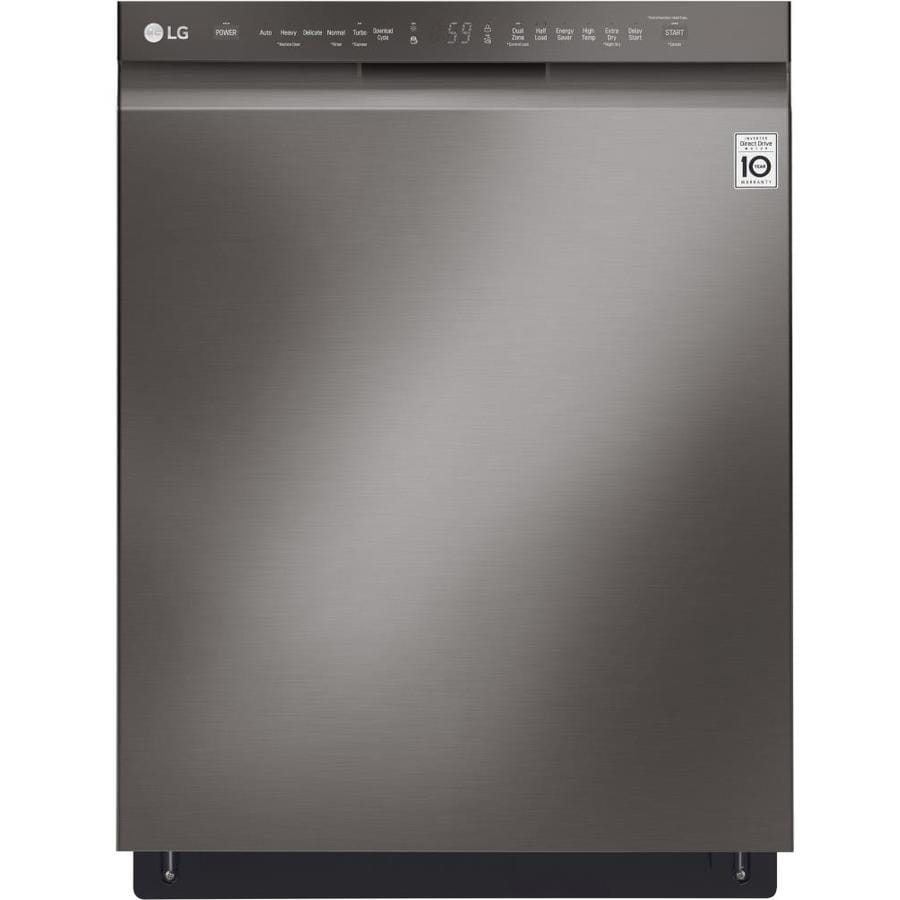 Shop Samsung 55 Decibel Built In Dishwasher Stainless: Shop LG QuadWash 48-Decibel Built-In Dishwasher