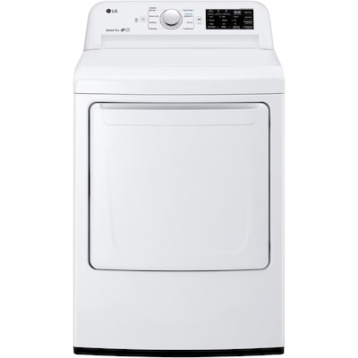 Lg 7 3 Cu Ft Electric Dryer White