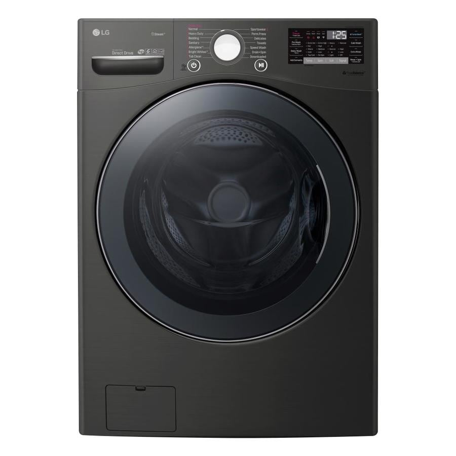 Lg Turbo Wash 360 4 5 Cu Ft High Efficiency Stackable