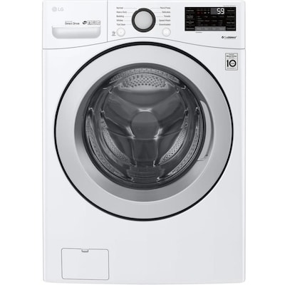 Smartthinq Twinwash 4 5 Cu Ft High Efficiency Stackable Front Load Washer White Energy Star