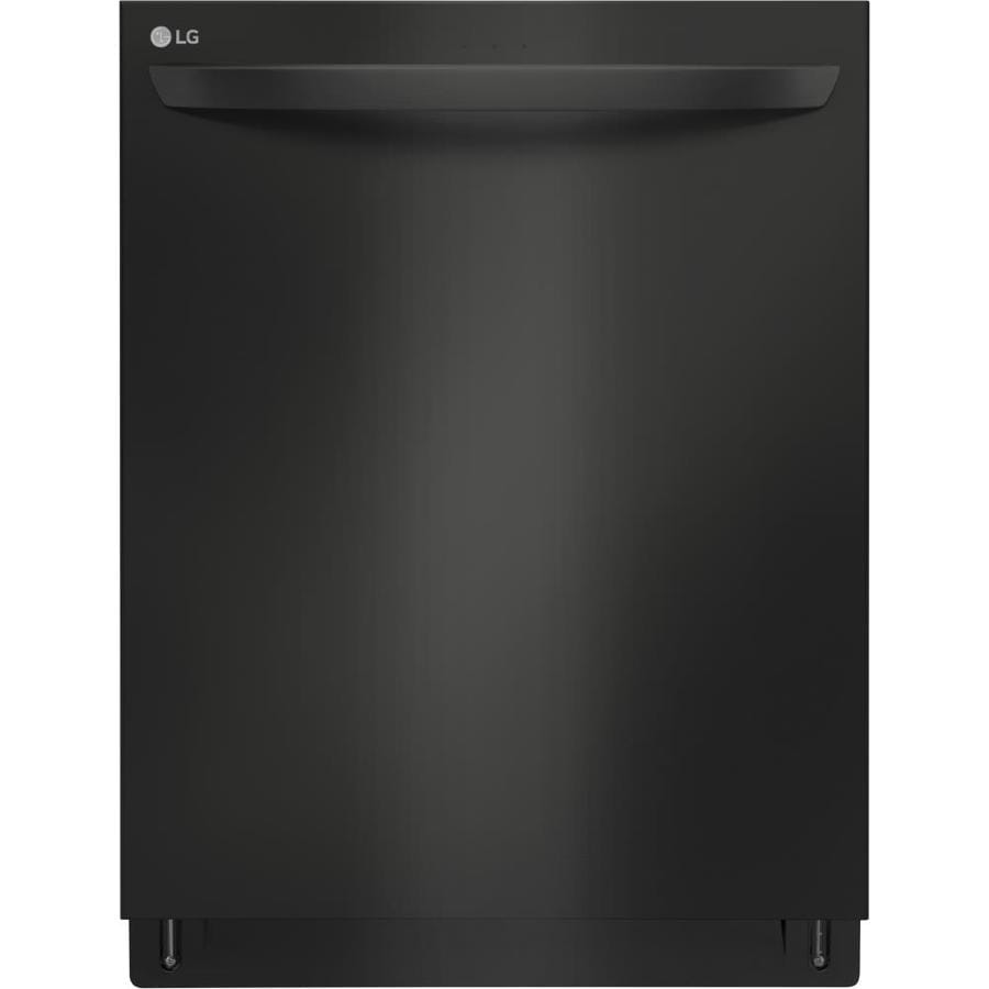 LG QuadWash 44-Decibel Built-In Dishwasher  (Fingerprint-Resistant Matte Black Stainless Steel) (Common: 24-in; Actual: 23.75-in) ENERGY STAR